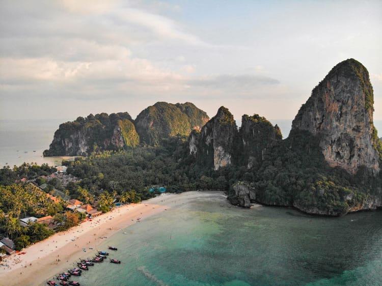 Picturesque Thailand shores
