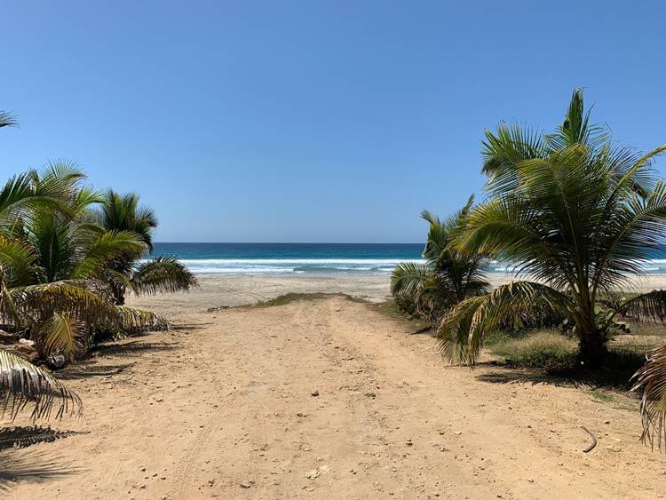 José's secret surf spot in Puerto Escondido, Mexico