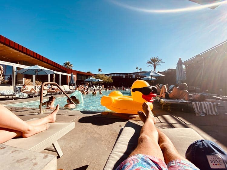Resort in Palm Springs