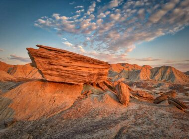 Toadstool Geological Park in Nebraska