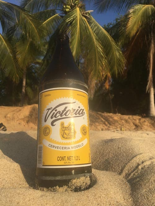 Relax with a local beer of choice