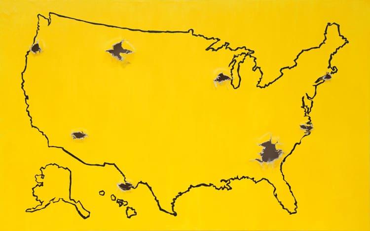 8 Deadly Shots artwork in Manhattan by Linjie Deng