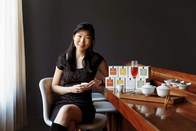 Ashley Lim founder of Mansa Tea. Courtesy of Tory Williams