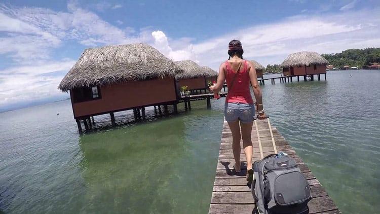 Overwater villas in Bocas del Toro. Photo by Angie Falor