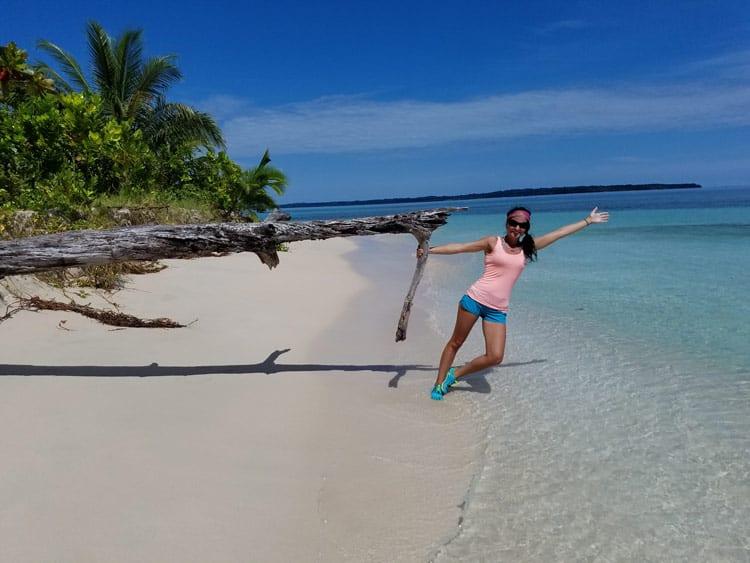 Isla Zapitillas in Bocas del Toro. Photo by Angie Falor
