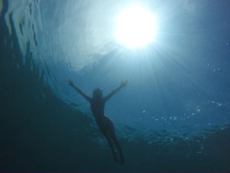 Snorkeling in the Panama waters