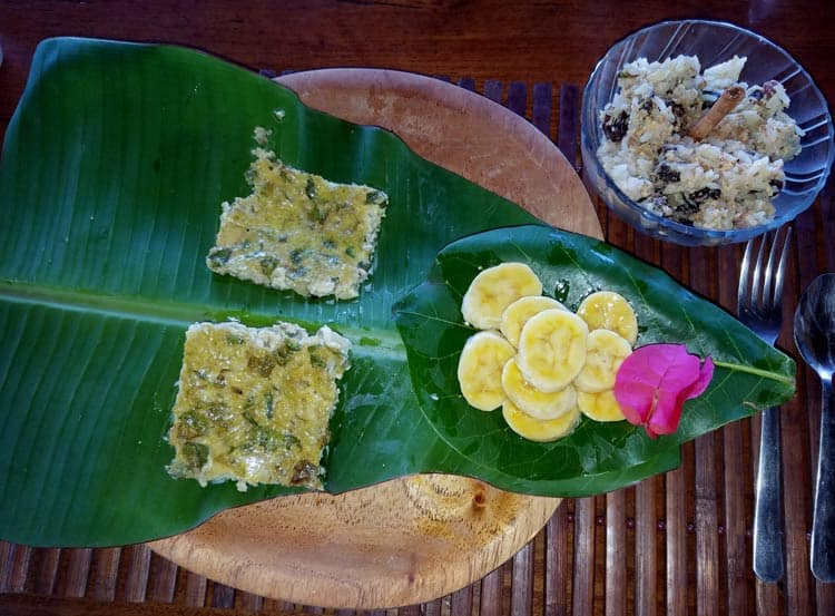 Cuisine in Bocas del Toro. Photo by Angie Falor
