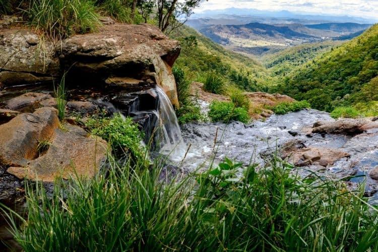 Hinterland Waterfalls surrounding Byron Bay's Hinterland