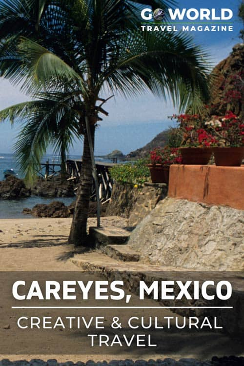 Careyes, Mexico welcomes visitors to visit the beach, release sea turtles at dusk, view the creative villas and more.