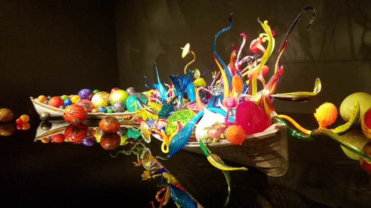 Chihuly Garden and Glass is a top Seattle Tourist Attraction