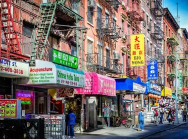 Chinatown in NYC. CC Image by Mobilus In Mobili