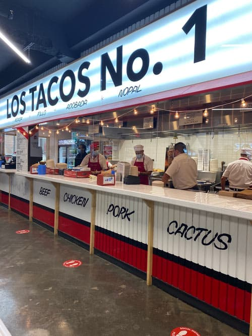 Los Tacos No. 1. Photo by Meryl Pearlstein