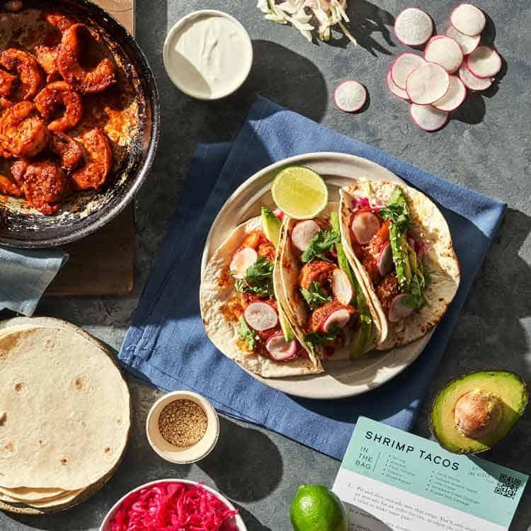 Seamore's shrimp tacos. Photo courtesy of Baldor Specialty Foods