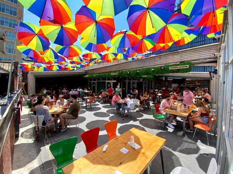 Have an outdoor fiesta for Cinco de Mayo at the Cantina Rooftop. Photo courtesy of Cantina Rooftop