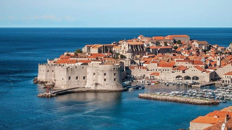 Dubrovnik has become world-famous after filming 'Game of Thrones'