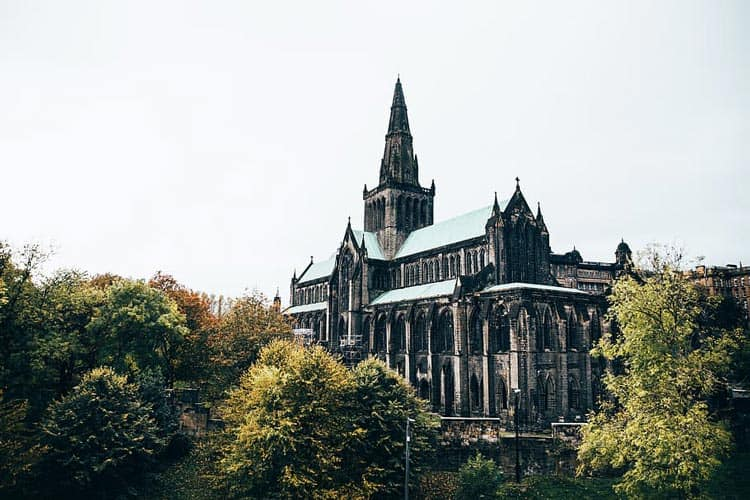 Cathedral in Glasgow