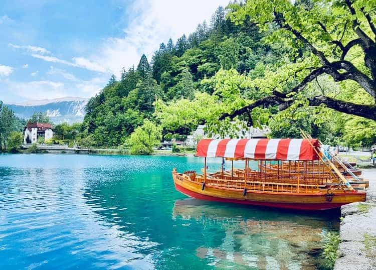 Lake Bled Slovenia is a must when you tour the Balkans