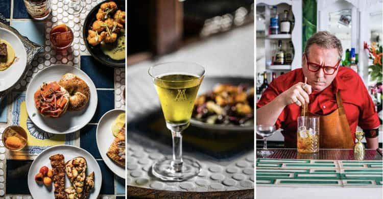Reserve is an intimate speakeasy vegan restaurant in NYC
