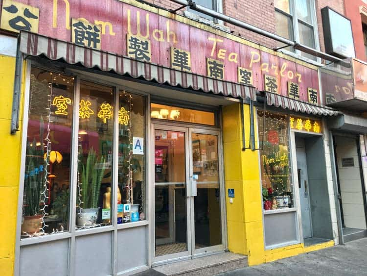 Asian culture in New York, Nom Wah Tea Parlor. Photo by Meryl Pearlstein