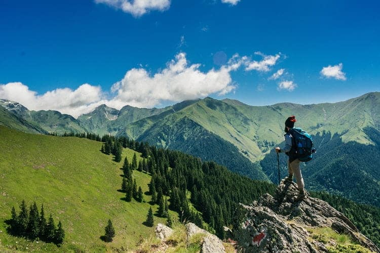 One can enjoy the mount climing experience in Balkans