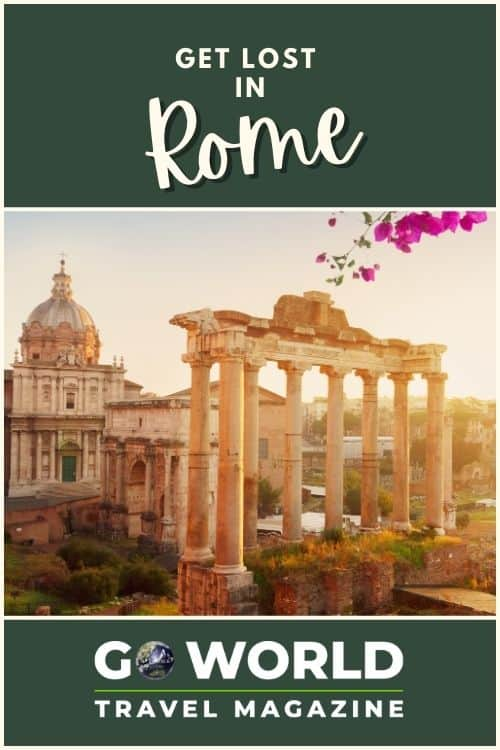 Rome, Italy: Are you ready for a historical and educational destination in Italy? Join one author as he reflects on his education while getting lost in Rome.
