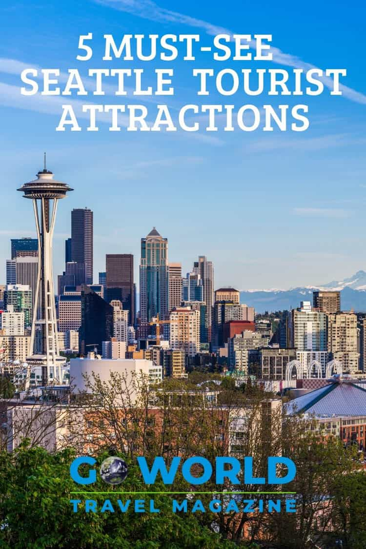 Top Attractions in Seattle: To see or not to see? That is often the question with popular tourist attractions. Here are five of the best tourist attractions in Seattle. #seattletravel #seattlevacation #attractionsinseattle #seattleholiday