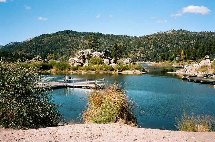 Big Bear Lake in Southern California. CC Image by Person-with-No Name