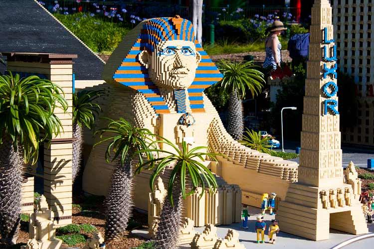 Legoland in California. CC Image by Fido