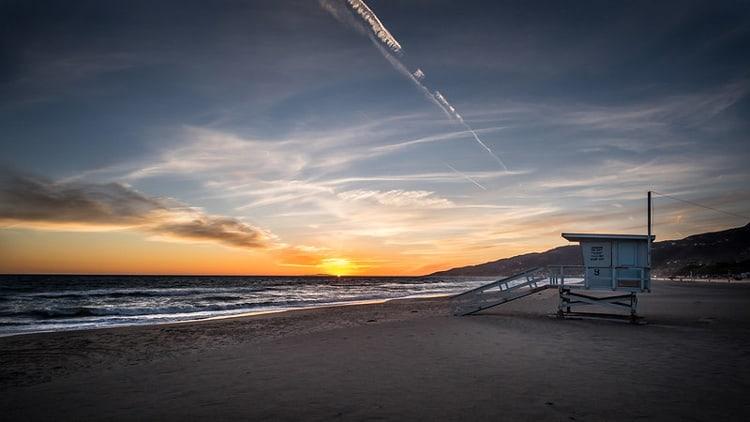Malibu Beach in California. CC Image by Giuseppe Milo