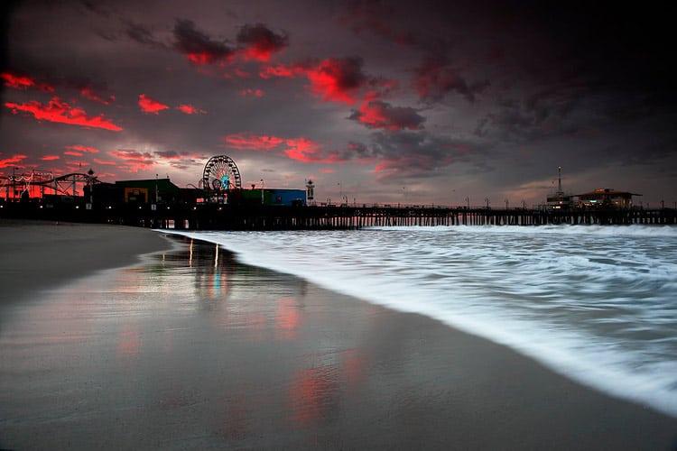 Santa Monica Pier. CC Image by ™Pacheco