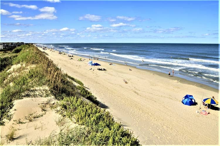 North Carolina's Outer Banks are home to the largest stretch of undeveloped beaches on the East Coast. Photo by Gavin Haskell/Dreamstime.com