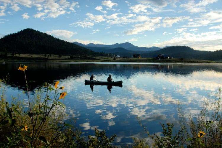 Pagosa Springs is the perfect Colorado destination to play outdoors. Photo: Visit Pagosa Springs