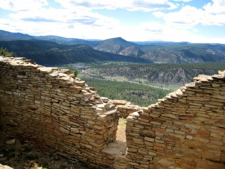 Great House Wall Photo: Chimney Rock National Monument