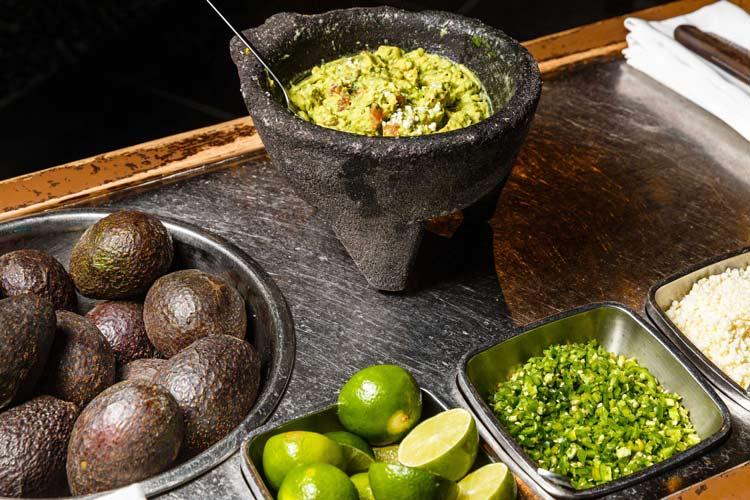 Sinigual's guacamole. Photo courtesy of Sinigual