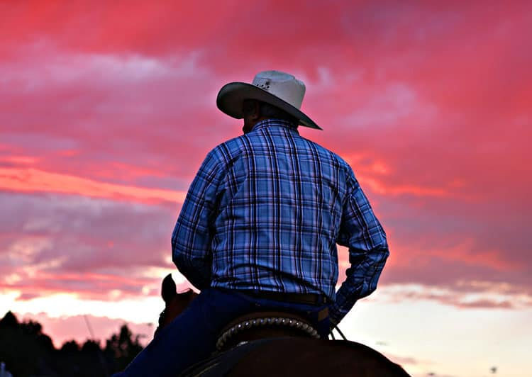 Cowboy in Steamboat Springs