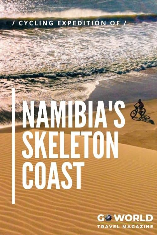 The Story of Kate Leeming's World-First Expedition along Namibia's Skeleton Coast by bicycle. A 1,000-mile challenge of sand, wind, isolation & lions.