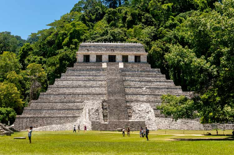 The archaeological mystery of Palenque in Mexico