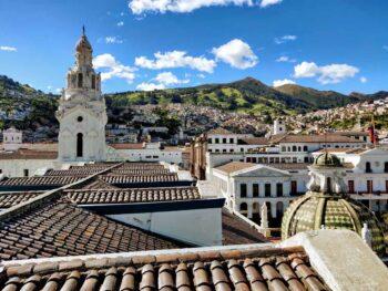 City of Quito in Ecuador