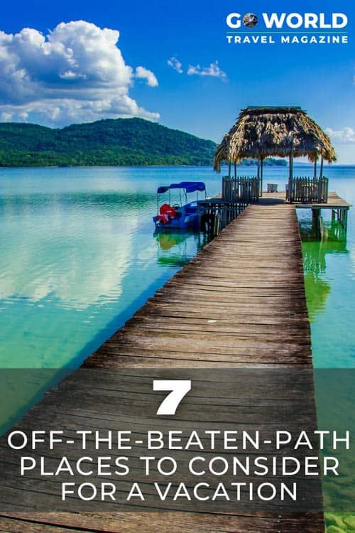 Travelers are dreaming of where they want to travel to when it's safe to do so, and for many, that means trying somewhere totally new. Here are seven spots that may give you a fresh wanderlust for places unknown.