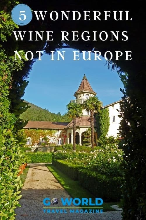 Everyone knows that Italy and France produce great wine but here are 5 amazing wine regions to discover that aren't in Europe. Cheers! #winearoundtheworld #wineries #wineregions #winesouthafrica #wineriesaustralia #sonomavalley