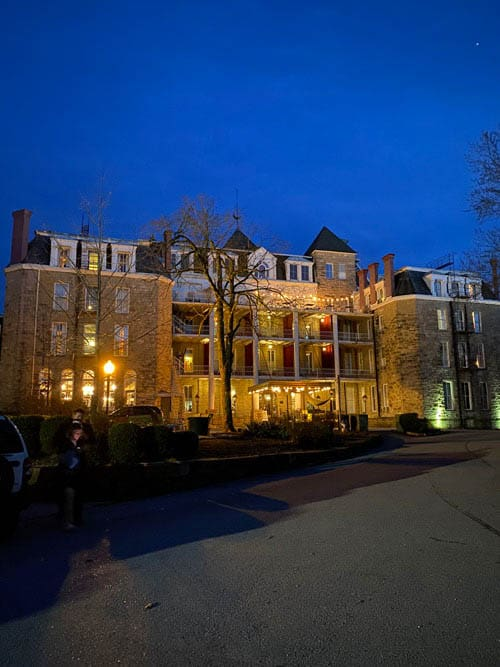 The Crescent Haunted Hotel in Eureka Springs, AR