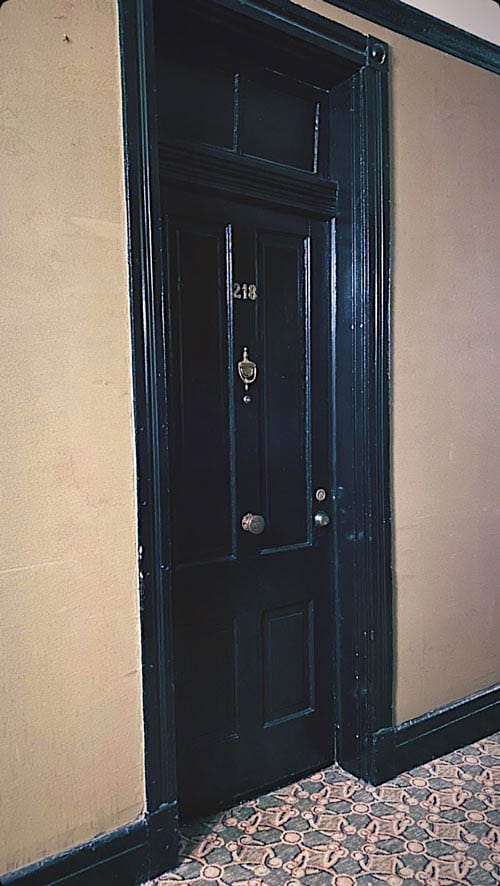 Room 218 is one of the most active rooms at the Crescent Haunted Hotel in Eureka Springs