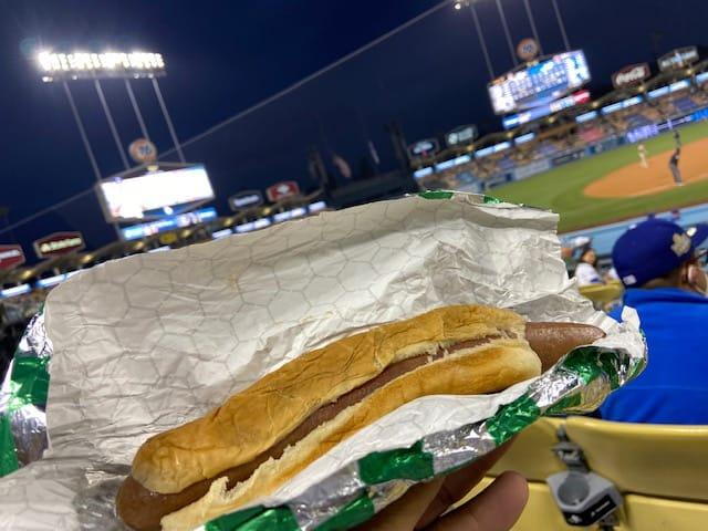 Dodger Dog hot dog