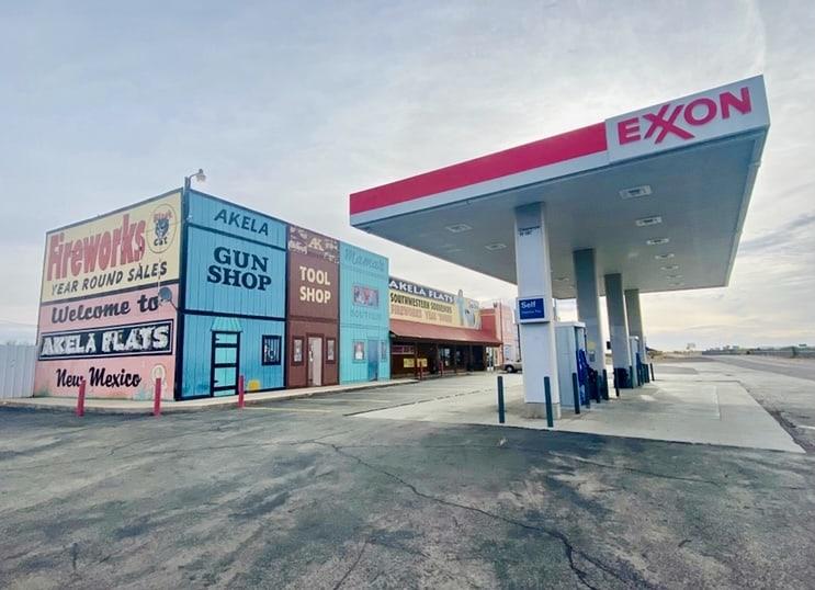 gas station Phoenix