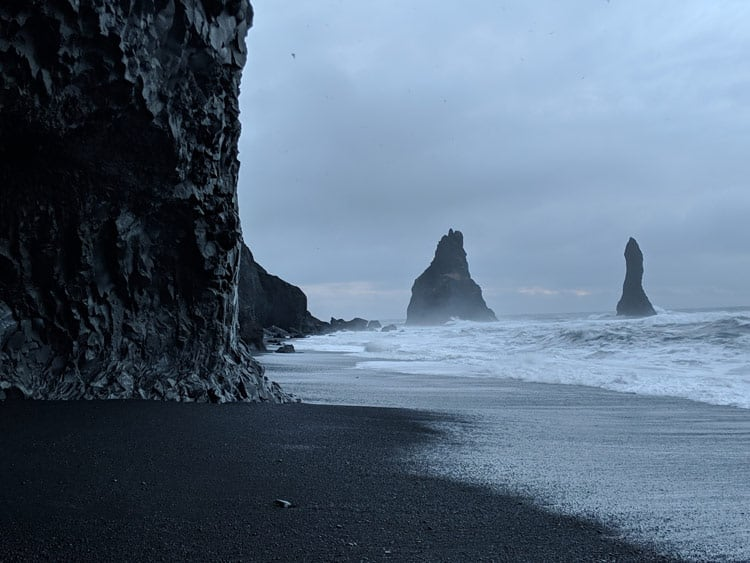 Ocean in Iceland. Photo by Logan Harvey