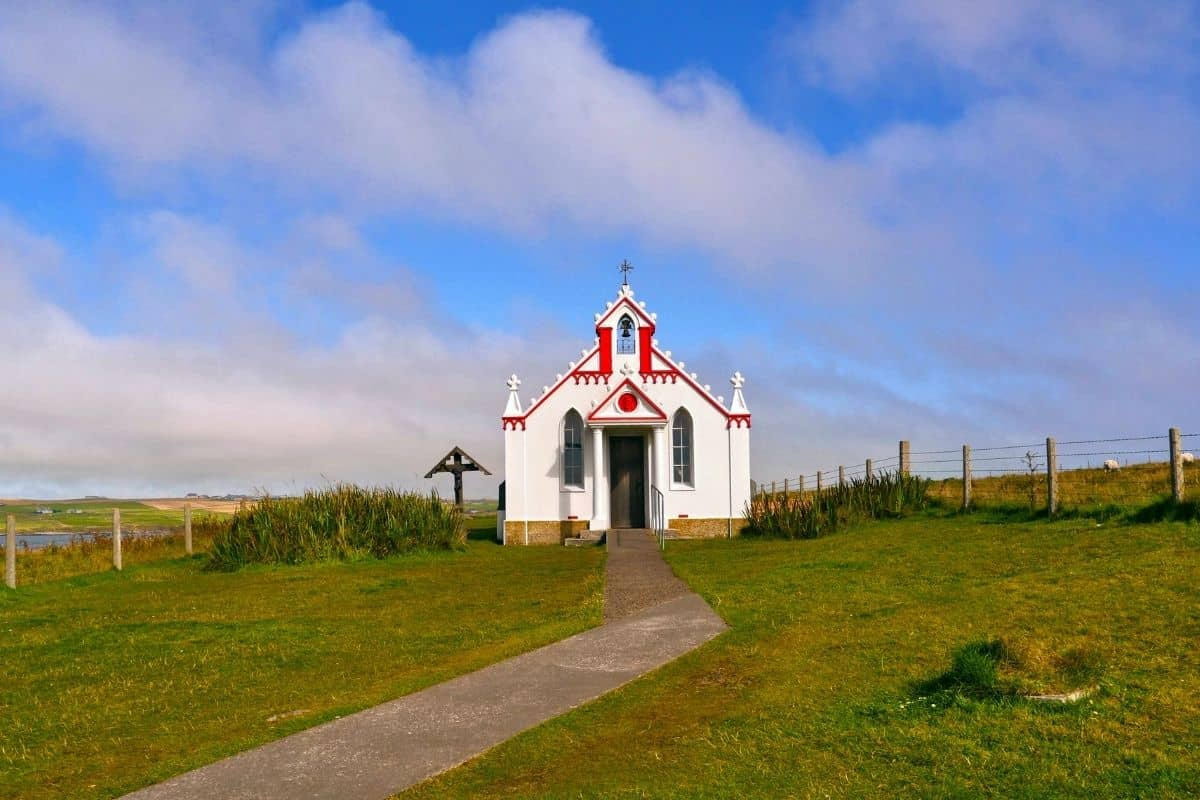 Story of the miraculous Italian Chapel in Orkney Islands, Scotland