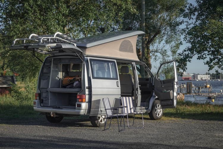Norway Campervans have plenty of smart solutions for a road trip in Norway