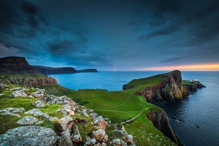 Rugged natural beauty of the Orkney Islands, Scotland