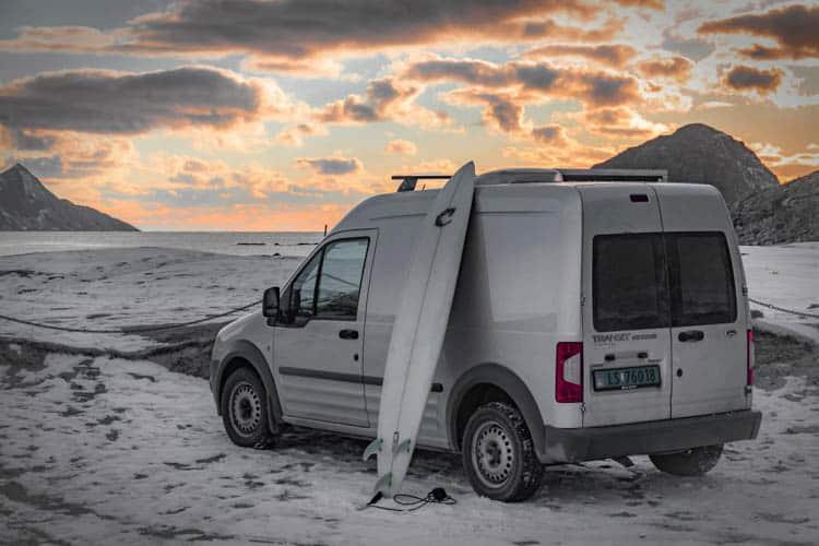 Plenty of great surfing spot along the whole Norwegian coast.