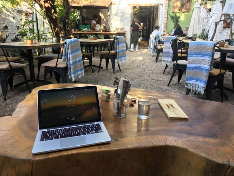 Work in San Miguel de Allende
